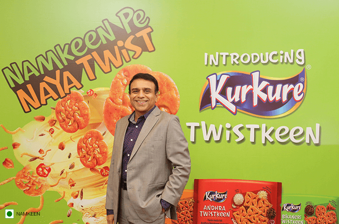 Kurkure Twistkeen gives namkeens a modern twist