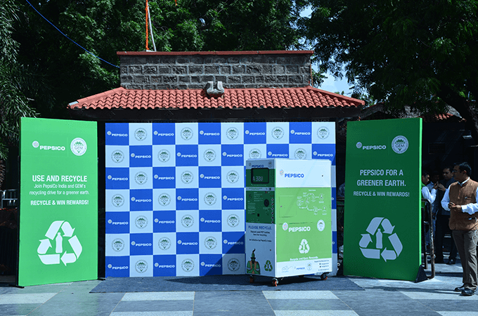 PepsiCo's PET recycling program in Shirdi, Maharashtra