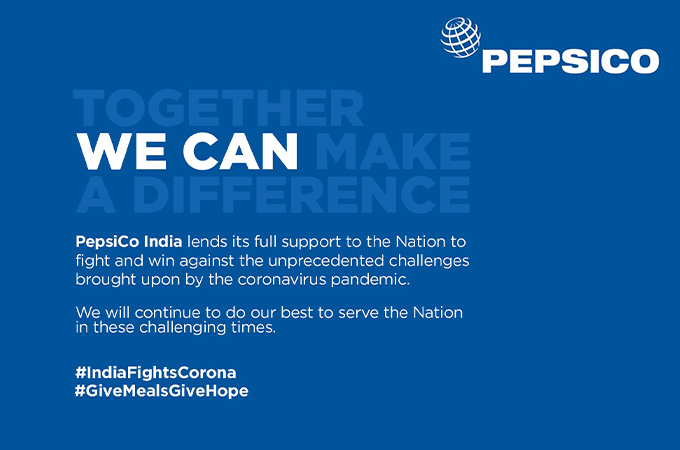 PepsiCo India commits over 5 million meals and 25,000 COVID-19 testing kits