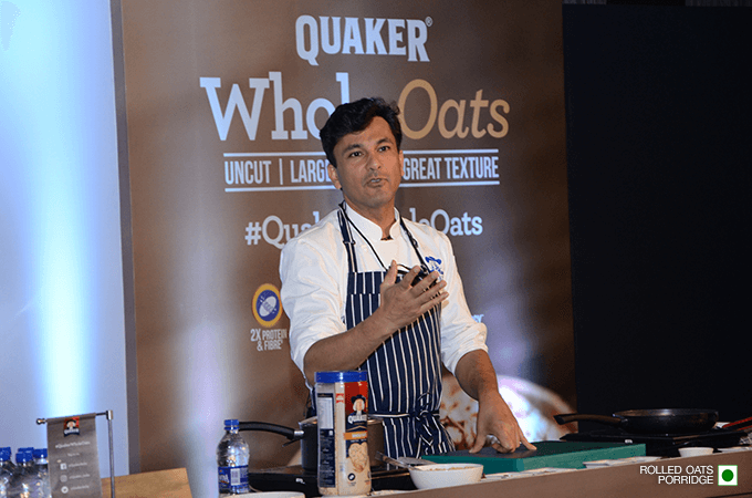 Launch of Quaker Whole Oats in India
